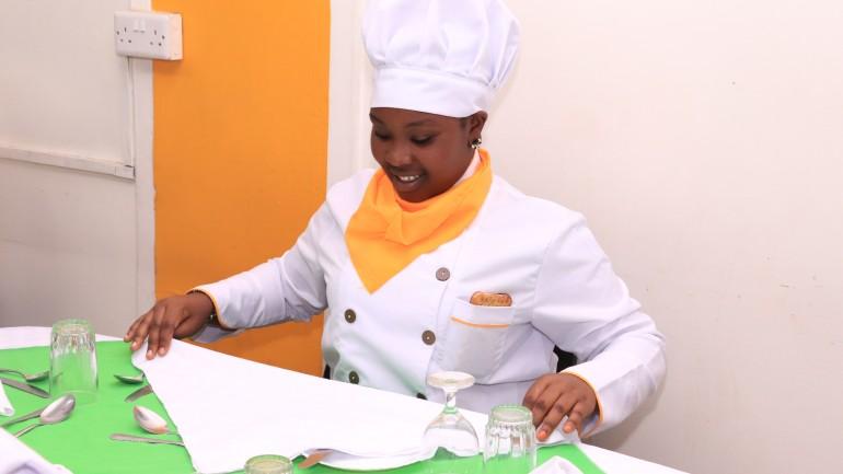 hospitality student